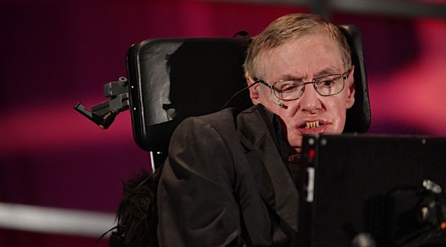 British astrophysicist Stephen Hawking