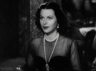 "Hedy Lamarr in ""Her Highness and the Bellboy."""