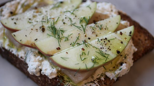 Herring Crostini: Pickled herring isn?t just for bagels and pumpernickel anymore.