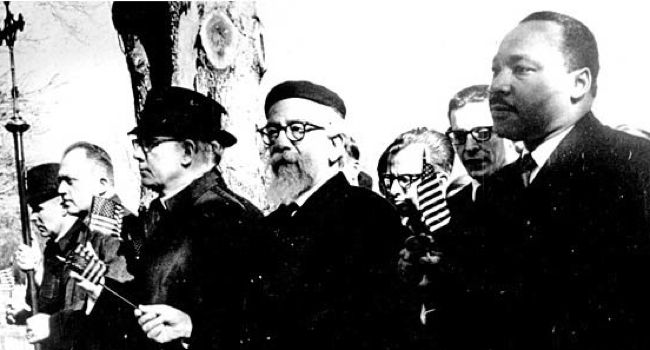 A Template Favorite: How many times have you seen this picture of Abraham Joshua Heschel marching with Martin Luther King, Jr.?
