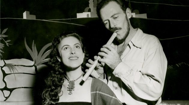 Crooners: Israeli folk singing duo and married couple Hillel and Aviva Raveh recorded on the Smithsonian Folkways label and toured New York City in the 1950s with Hillel on flute and Aviva on a timbrel.
