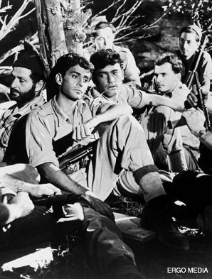MEN OF VALOR: ?Hill 24 Doesn?t Answer,? the first Israeli motion picture filmed in English, is being released on DVD.