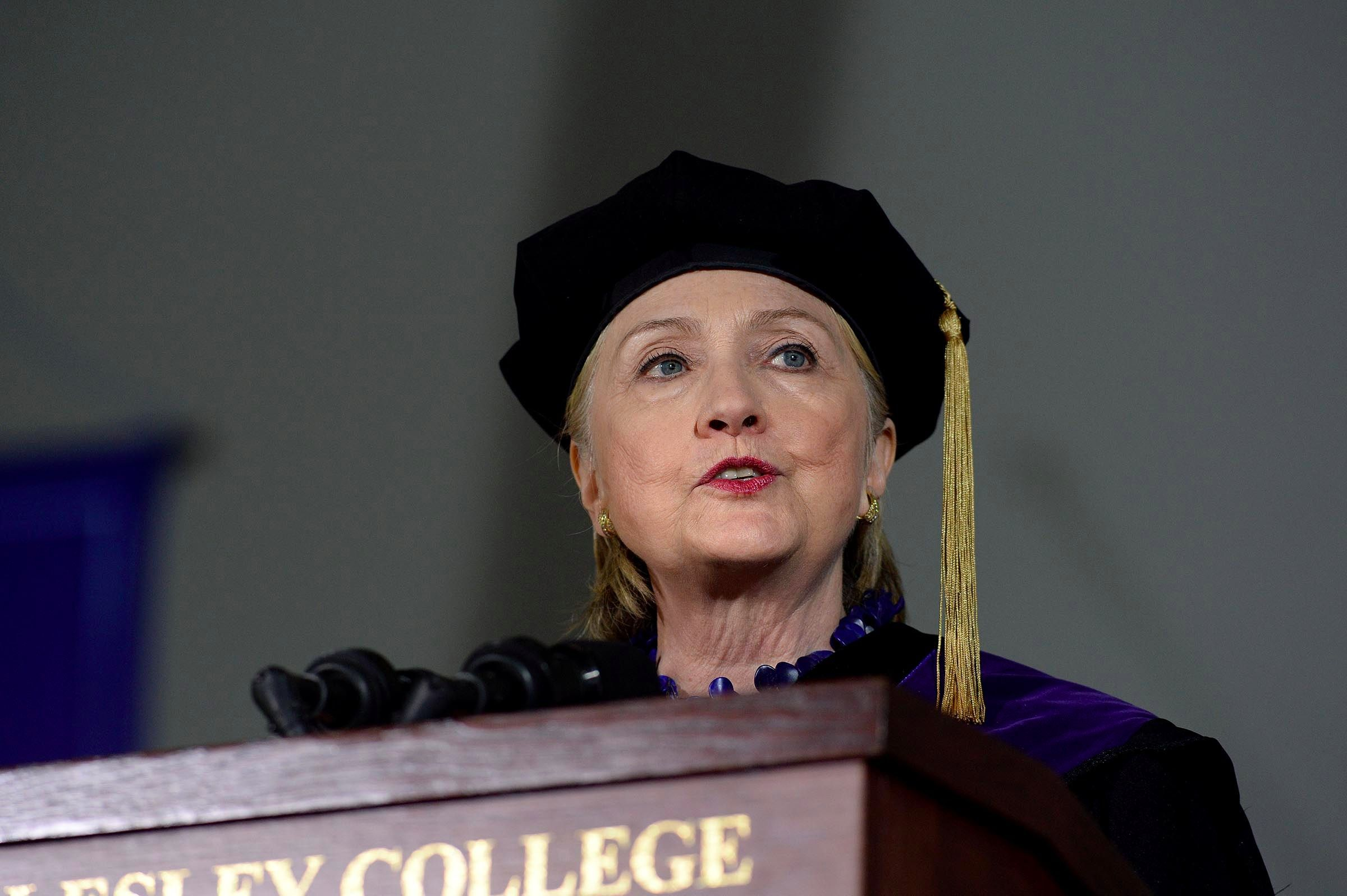 Actually, Hillary Clinton makes a good -- and awkward -- point