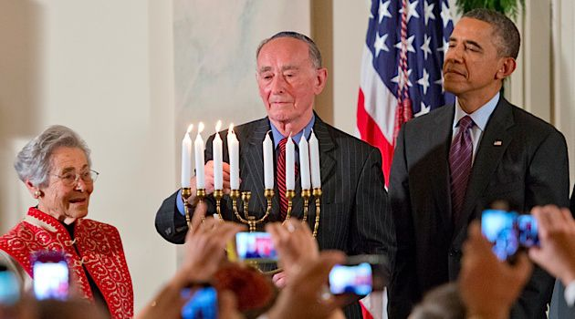 Holocaust survivors helped President Obama light the White House menorah last Hanukkah. Now, his administration has appointed a special envoy to help the struggling community.