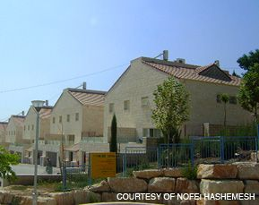 HOME AWAY FROM HOME: Those behind the Nofei Hashemesh housing development in Beit Shemesh are selling it to Modern Orthodox immigrants as an American-style religious community.