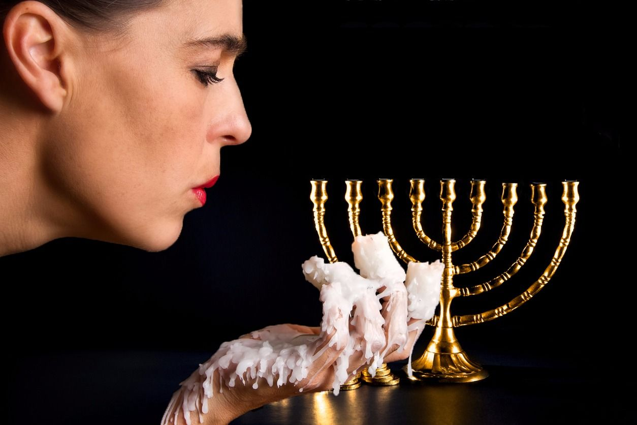 how to clean wax off of your hanukkah menorah the forward