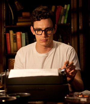 Lingua Franco: Allen Ginsberg (James Franco) at work on the poems and correspondence that changed the century.