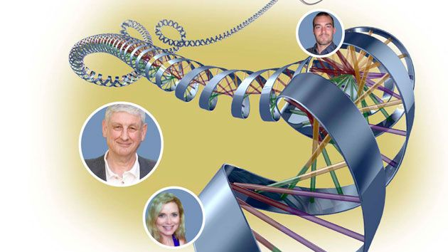 Genealogy: From top, Pickrell, Voss and Moore discovered their Jewish heritages through recently available DNA testing.
