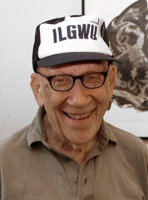 ILGWU: Retired union staffer Aaron Adler, whose life insurance plan was cut by $95,000.