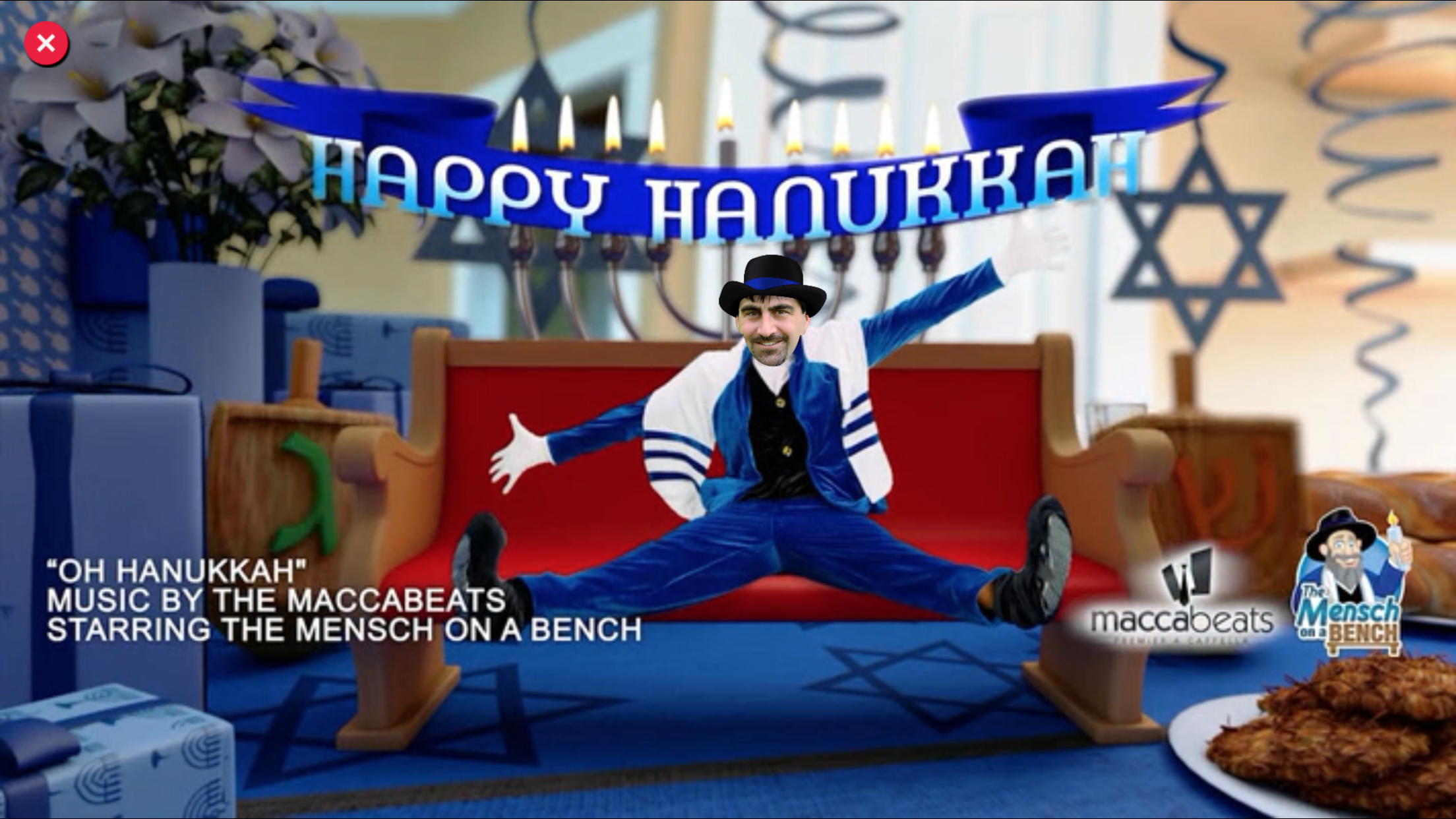 You Can Dance With Mensch on a Bench for Hanukkah The Forward