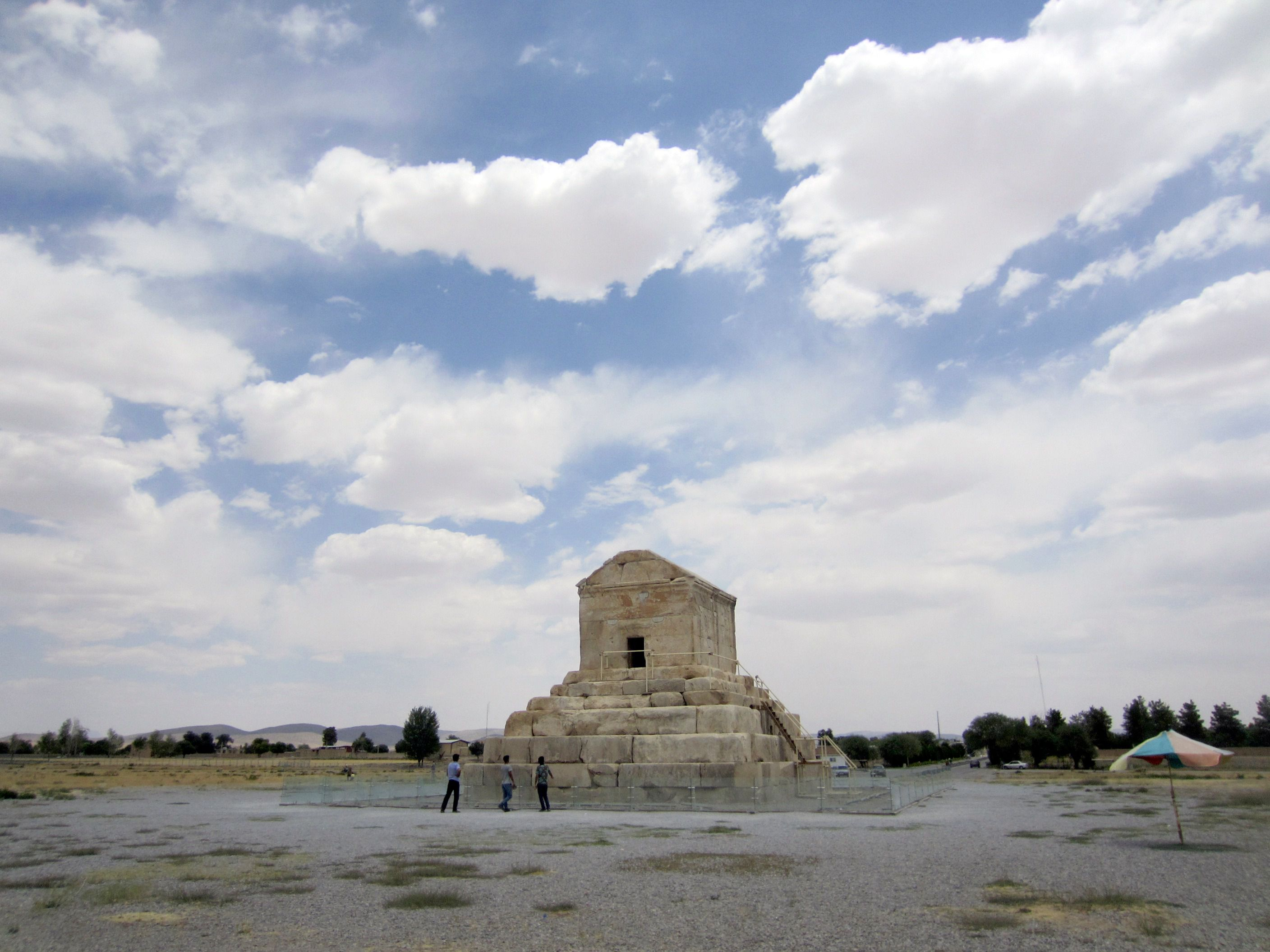 Burial place of Cyrus the Great in Fars Province, Iran.