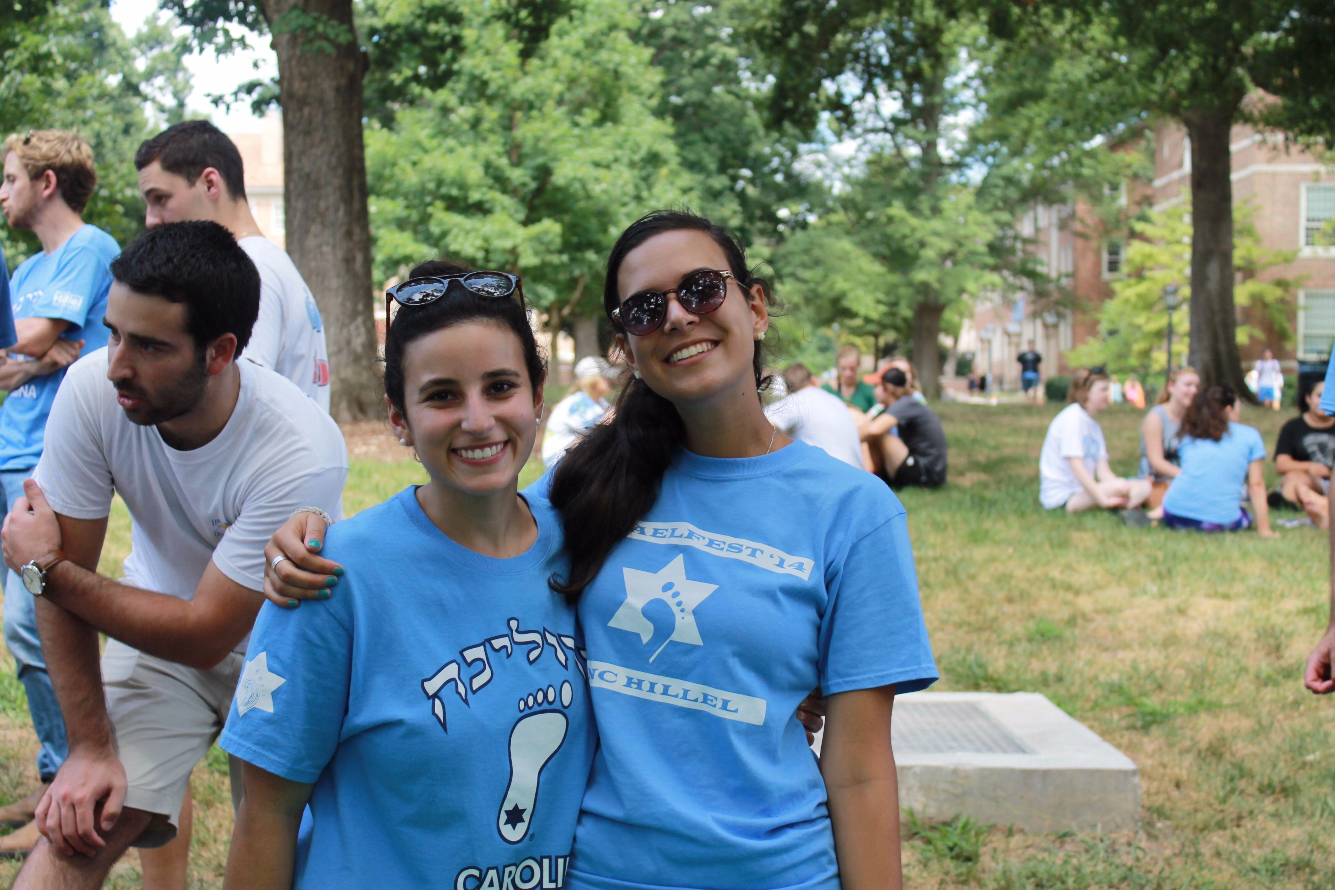 Jewish students at the University of North Carolina at Chapel Hill.