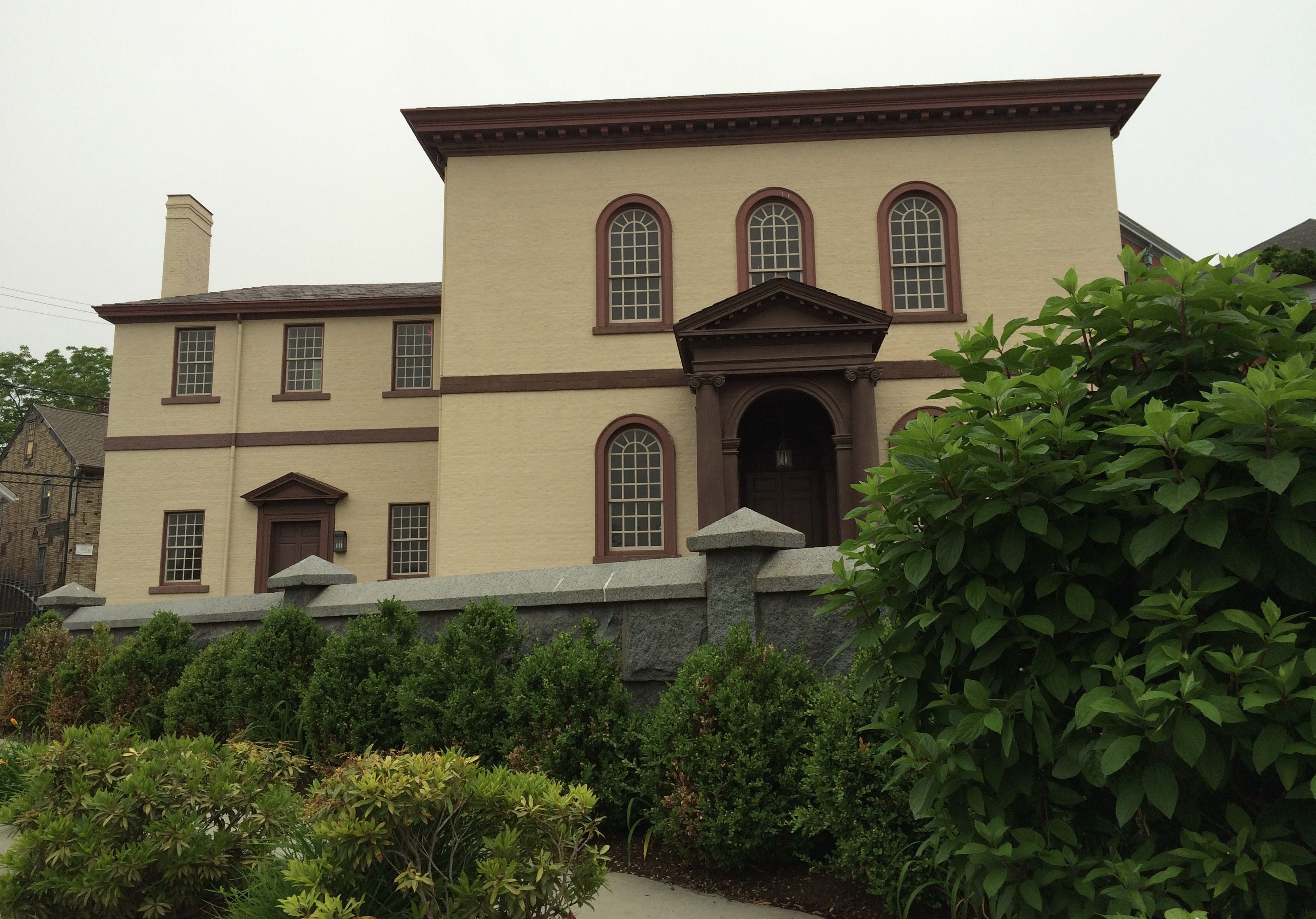 Touro, dedicated in 1793, is the oldest synagogue in America.