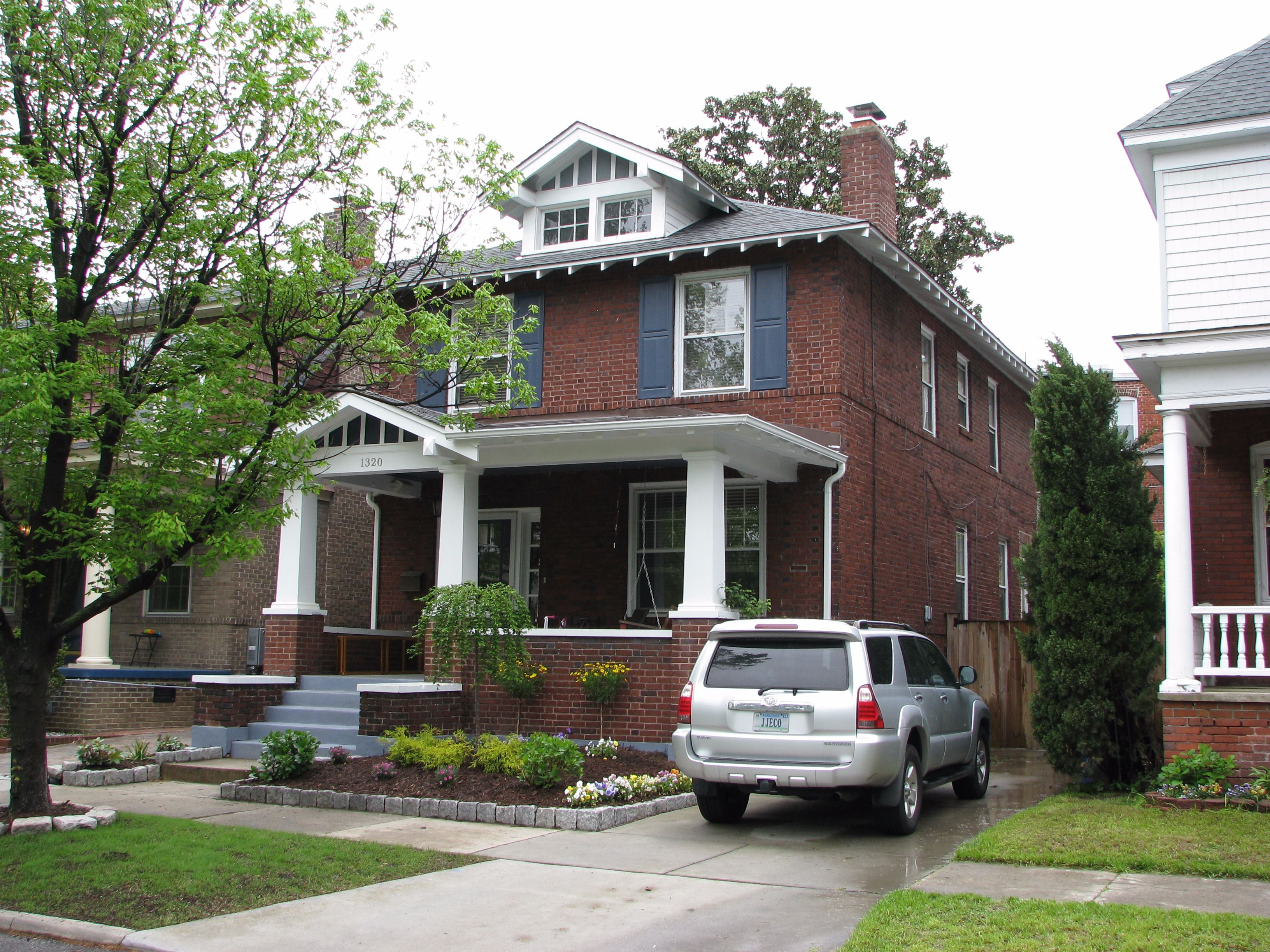 Family Home: The Bergers lived at 1320 Stockley Gardens in Ghent.