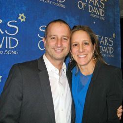 Aaron Harnick and Abigail Pogrebin