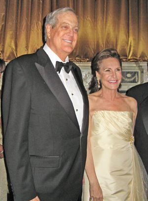 David Koch and Sharyn Mann