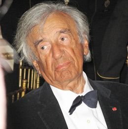 Supporter: Elie Wiesel