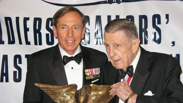 General David Petraeus and Ivan Obolensky