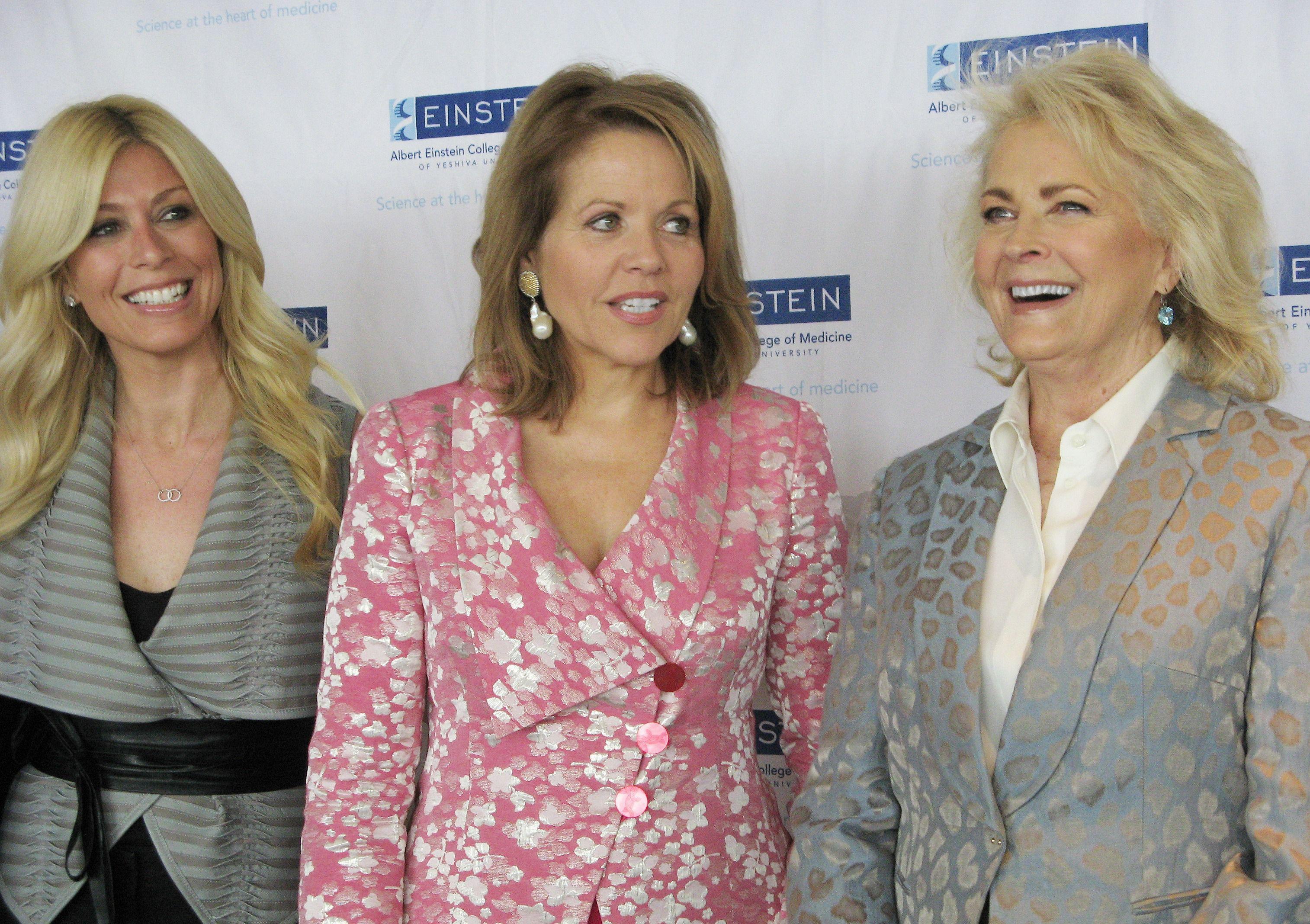 Jill Martin, Renee Fleming and Candice Bergen.