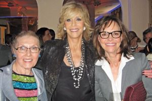 Masha Leon, Jane Fonda and Sally Fields