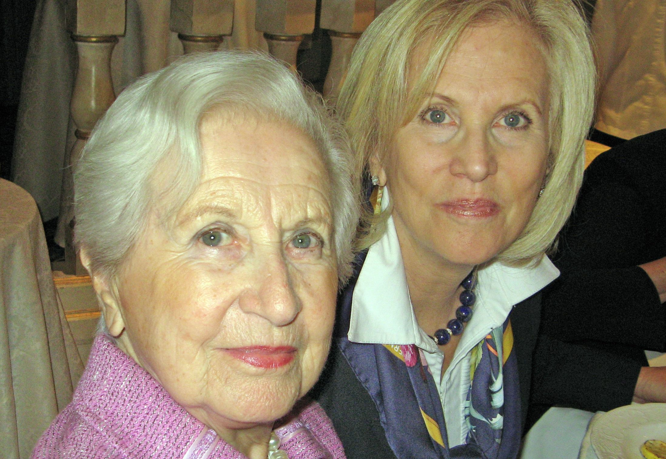 Ruth Wachner Pagirsky with her daughter