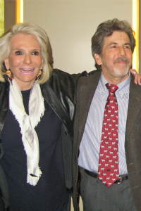 Sheila Nevins of HBO and Director Steven Pressman