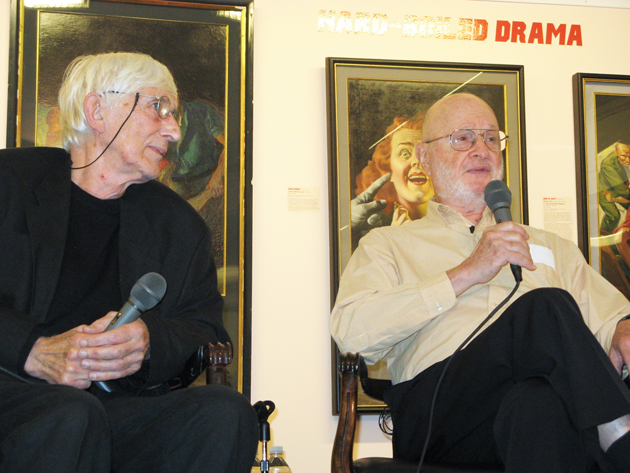 Tomi Ungerer and Jules Feiffer