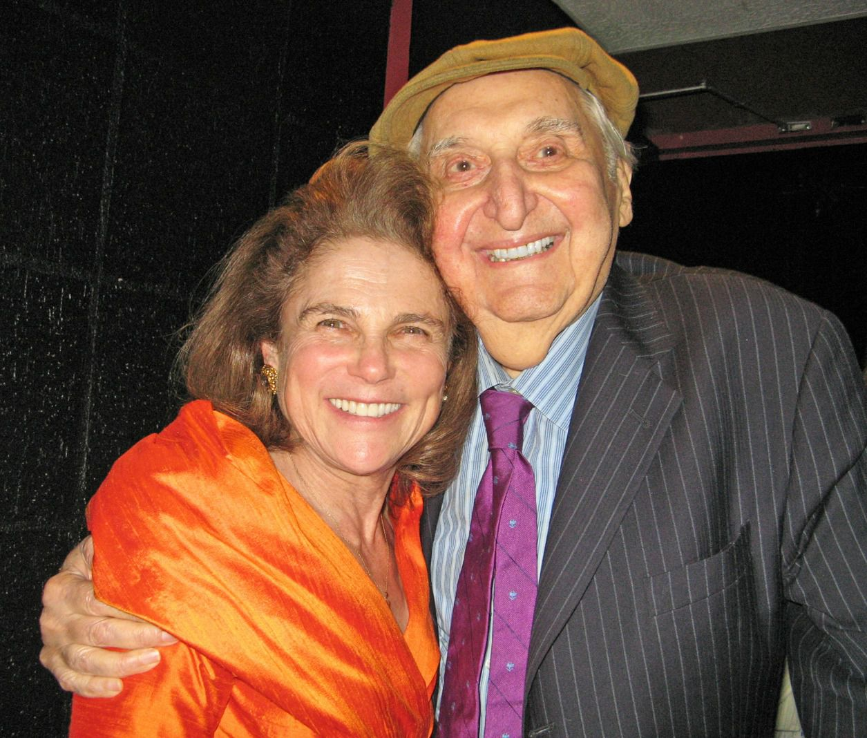Tovah Feldshuh and Fyvush Finkel