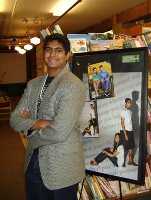 The Handbook: Duke freshman Imran Hafiz this summer promoted the Muslim teen guide he wrote with his sister and mother.