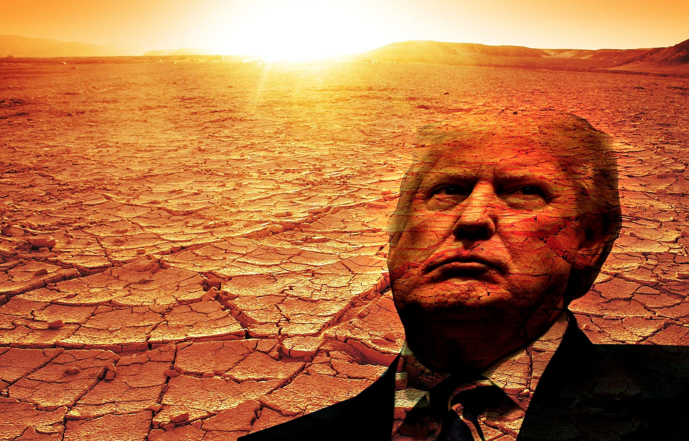 A group of interfaith leaders view Donald Trump's election as akin to a drought, and are fasting to plead for relief.