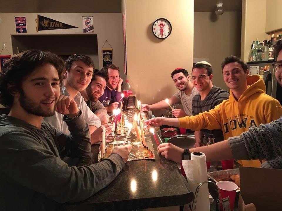 Jewish students at the University of Iowa