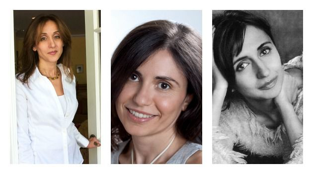 Three of Diamonds: Gina Nahai, Dalia Sofer and Roya Hakakian.