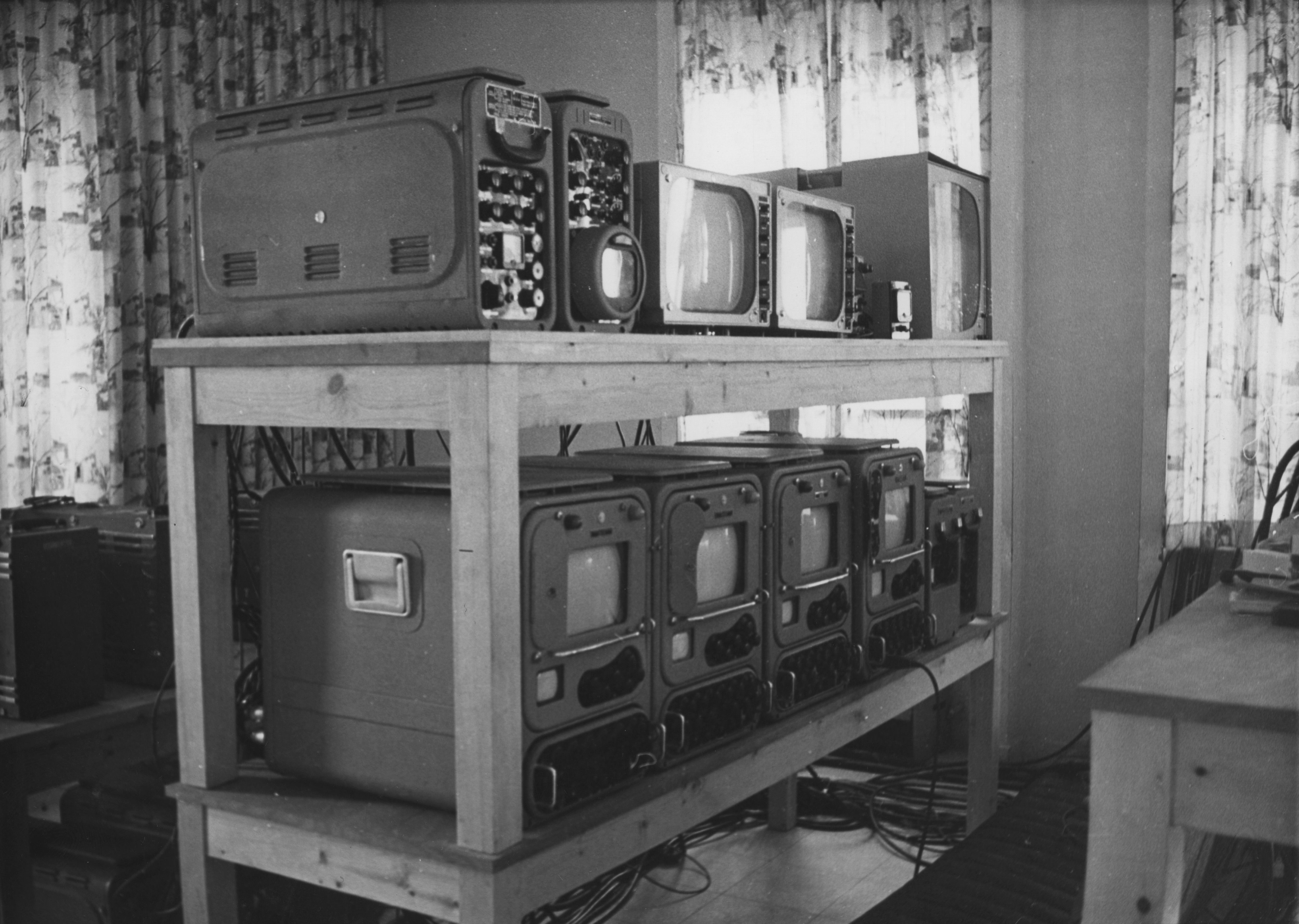 TV equipment used to broadcast the 1961 trial of Adolf Eichmann in Israel.