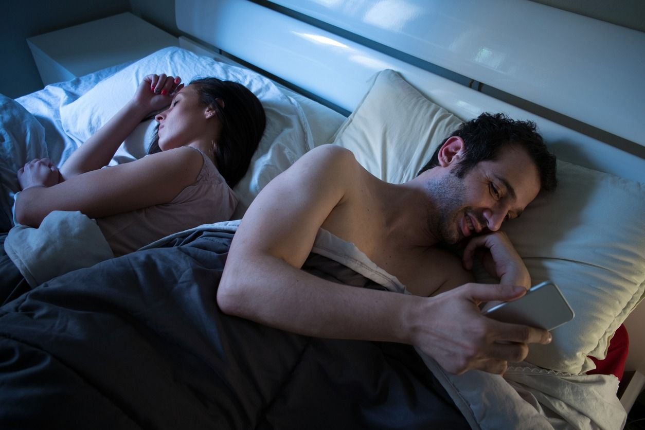 Checking your phone at night can disturb your sleep quality and attention abilities.