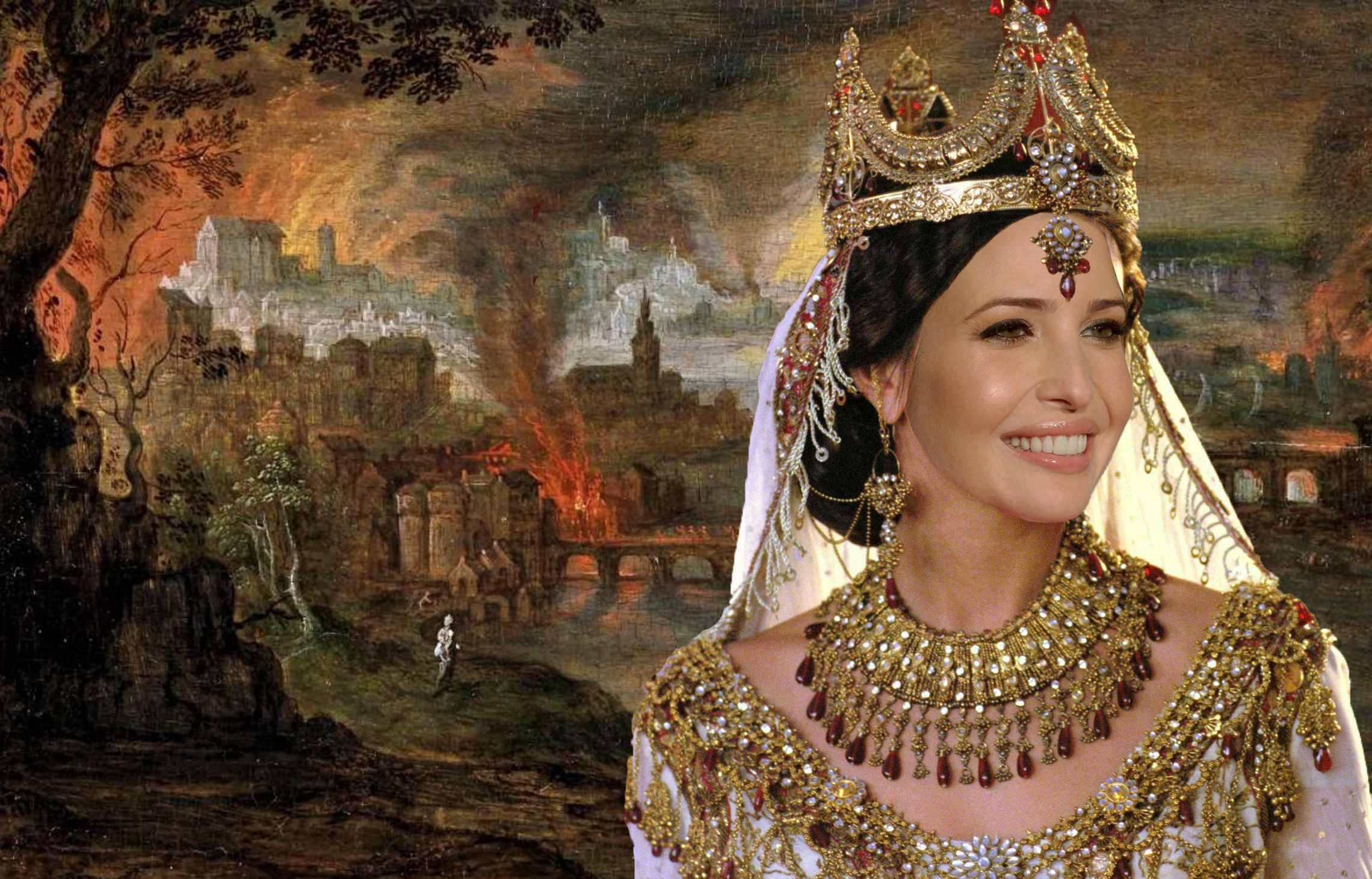 can ivanka trump become our queen esther the forward