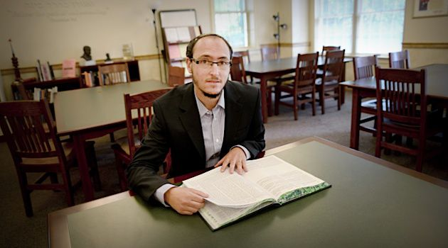 Future Leaders: Jacob Lieberman who is studying to be a rabbi at the Reconstructionist Rabbinical College will be ordained in the next few years along with two other transgender rabbinical students.