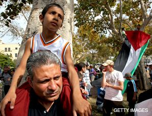 JAFFA: Israeli Arabs take part in Land Day protests in Jaffa, the first time the mixed Arab-Jewish city was a focus of the annual demonstrations against Israeli land policies.