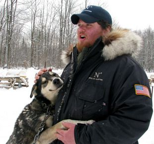 Man?s Best Friend: Jake Berkowitz, a 22-year-old musher, recently competed in the 2009 Iditarod Trail Dog Sled Race in Alaska.