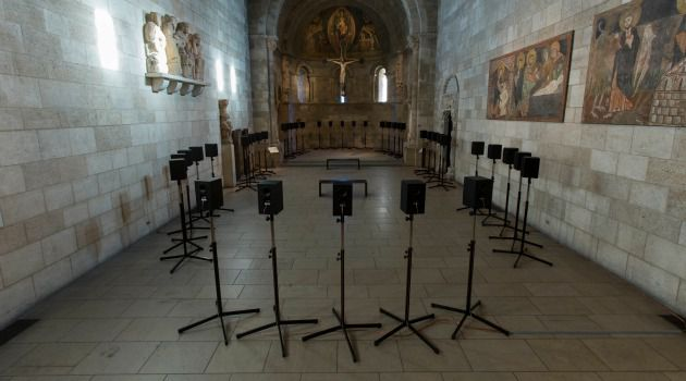 A Fraction of the Whole: Janet Cardiff?s installation envelops listeners in a sea of sound.