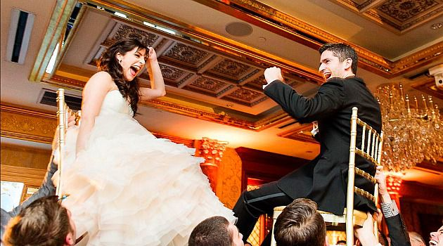 Hitched:  Nina and Eric met on JDate in 2011. They were married in November 2013.