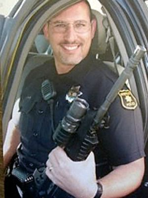 Warrior: Jerome Cobert's family was wary when he became a cop.