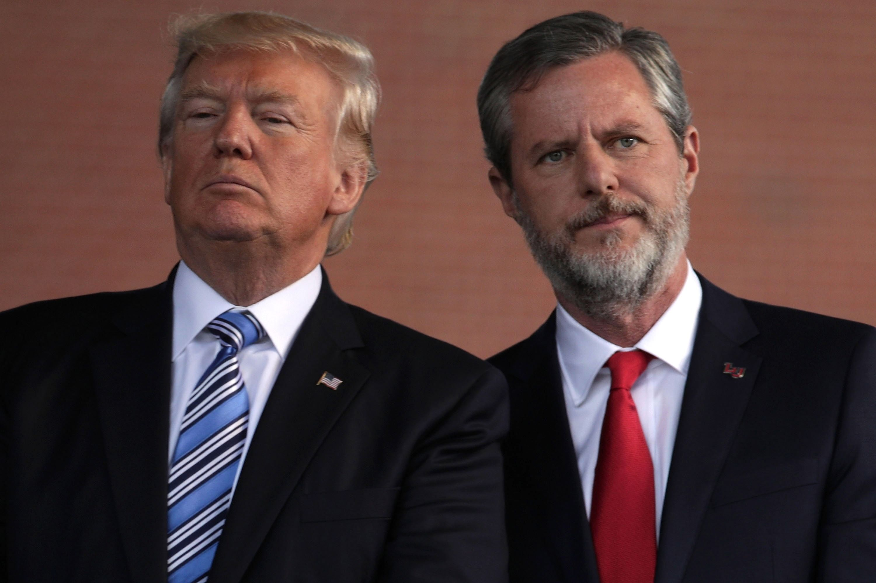 Jerry Falwell Jr. with President Trump