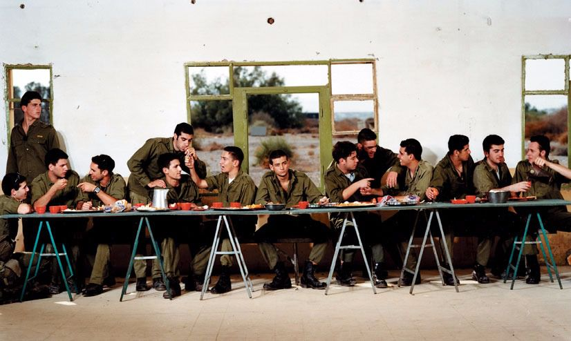 """""""The Last Supper,"""" by Adi Nes"""
