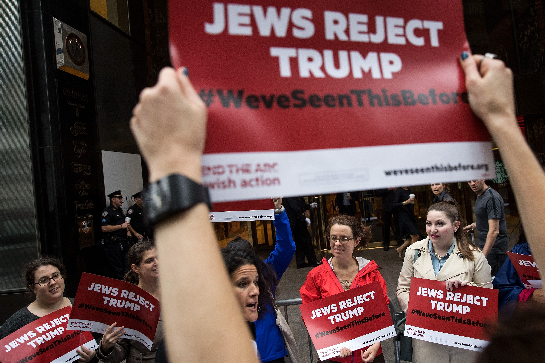 Jewish protest has a long pre-Trump tradition.