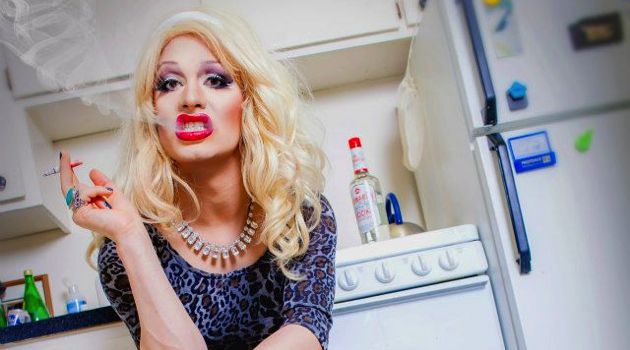 Taking a Drag: Jerick Hoffer crafted Jinkx Monsoon as an overbearing single Jewish mother who is also an aspiring actress.