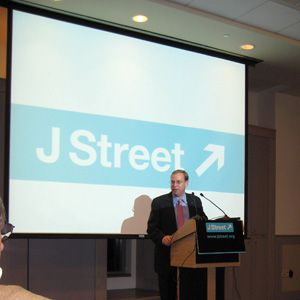 A Jewish Venue: Jeremy Ben-Ami, J Street executive director, spoke at the launch of J Street Local, a grassroots initiative. The event was at the University of Pennsylvania Hillel.