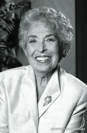 FIGHTER: June Walker was chair of one of America?s most influential Jewish organizations.