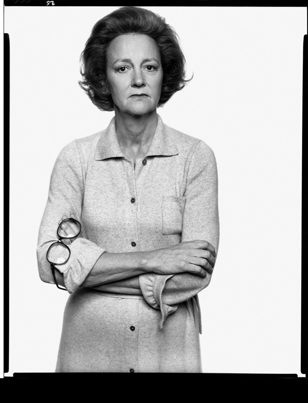 Photograph by Richard Avedon © The Richard Avedon Foundation From the Collection of The Israel Museum, Jerusalem Joint gift of Gagosian Gallery and the American Contemporary Art Foundation, Leonard A. Lauder, President, to American Friends of the Israel Museum