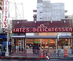 Katz's Deli is one of the many restaurants participating in National New York Deli Month
