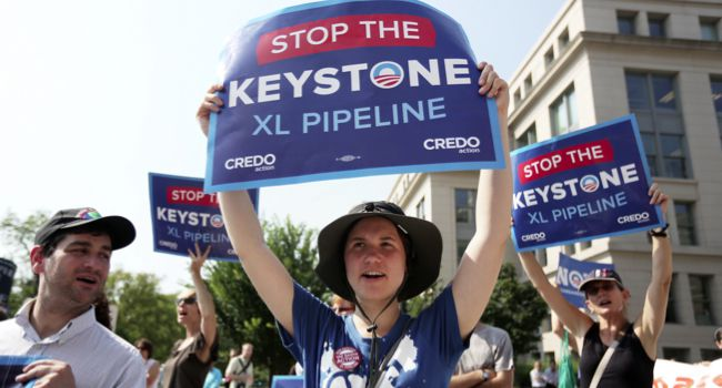 In the Pipeline: President Obama has been taking heat from his liberal supporters who see the pipeline decision as a litmus test.